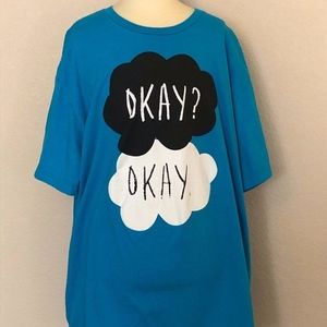 The Fault in Our Stars - Blue T-shirt (L/XL)